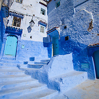 Where: Chefchaouen, Morocco. The Blue city.