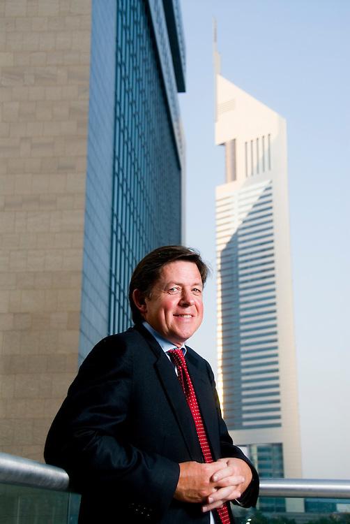 Ewan Cameron, Managing Partner, Linklaters (Dubai Office), Dubai, United Arab Emirates on August 31, 2006..By Siddharth Siva