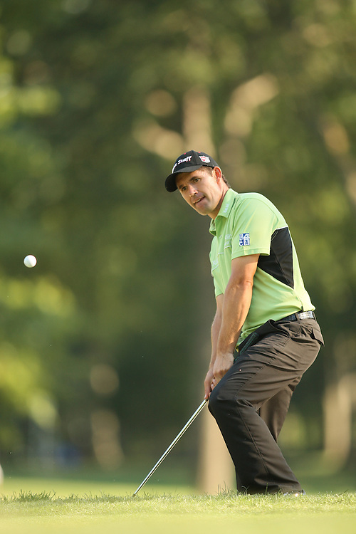 Padraig Harrington during the second round of the 2008 Barclays at Ridgewood Country Club in Paramus, NJ on Friday, August  22 2008. .