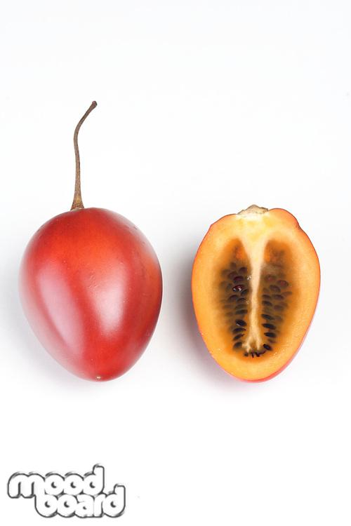 Studio shot of tamarillo fruit