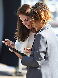 The Duchess of Cambridge attends the 1851 Trust Roadshow at the Docklands Sailing and Watersports Centre, London, UK, on the 16th June 2017. Picture by James Whatling. 16 Jun 2017 Pictured: Catherine, Duchess of Cambridge, Kate Middleton. Photo credit: James Whatling / MEGA TheMegaAgency.com +1 888 505 6342