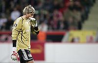Fussball  UEFA Pokal  Viertelfinale  Hinspiel   Saison 2006/2007 Bayer 04 Leverkusen - CA Osasuna                Rene ADLER (Leverkusen) enttaeuscht