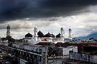 Banda Aceh enforces a moderate form of Islamic Law.