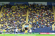 Preston - Saturday September 18th, 2010: The traveling Norwich fans during the Npower Championship match at Deepdale, Preston. (Pic by Paul Chesterton/Focus Images)