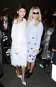 Zendaya and Kesha appear in the front row at Christian Siriano during the Mercedes-Benz Fall/Winter 2015 shows at Artbeam in New York City, New York on February 14, 2015.