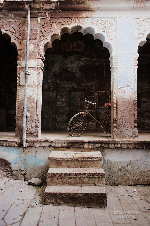 A quiet alley of Jodhpur