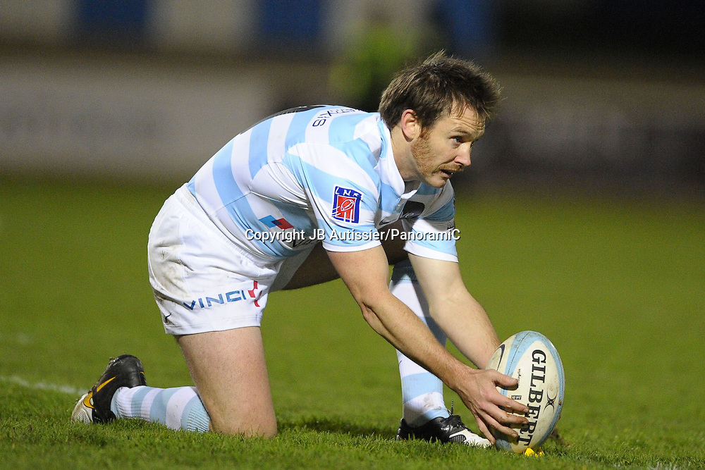 Andrew Mehrtens - Racing Metro 92 /Albi - Top 14 Top14 - Rugby - 27.11.2009 - largeur action