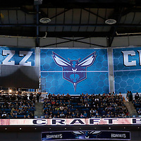 01 November 2015: View of the arena during the Atlanta Hawks 94-92 victory over the Charlotte Hornets, at the Time Warner Cable Arena, in Charlotte, North Carolina, USA.