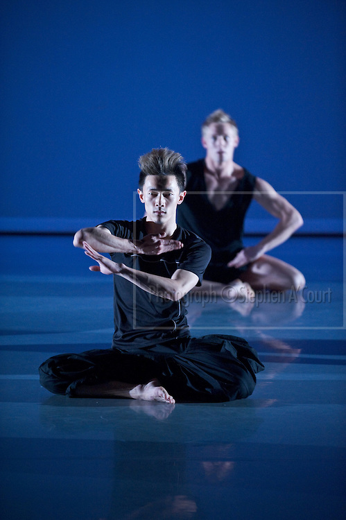At a rehearsal of Sketch, the NZ School of Dance Choreographic season at Te Whaea, Wellington, NZ, in May 2011.
