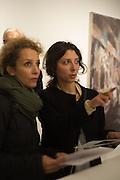 LETIZIA PETRUCCI; DOROTEA PETRUCCI, Behind the Silence. private view  an exhibition of work by Paul Benney and Simon Edmondson. Serena Morton's Gallery, Ladbroke Grove, W10.  4 November 2015.