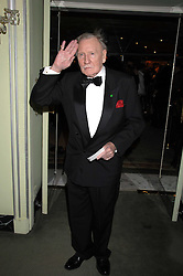 LESLIE PHILLIPS attending the 27th Awards of the London Film Critics' Circle 2007 in aid of the NSPCC held at The Dorchester, Park Lane, London on 8th February 2007.<br />