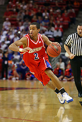 24 March 2008: Brian Roberts.  The Flyers of Dayton defeated the Redbirds of Illinois State 55-48 on Doug Collins Court inside Redbird Arena in Normal Illinois.