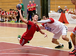 05.11.2016, SPORT. ZENTRUM Niederösterreich, St. Pölten, AUT, Invitational, Österreich vs Serbien, im Bild Paul Pfeifer (AUT) // during the Invitational match between Austria and Serbia at the SPORT. ZENTRUM Niederösterreich, St. Pölten, Austria on 2016/11/05, EXPA Pictures © 2016, PhotoCredit: EXPA/ Sebastian Pucher