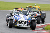 #50 Greg Hyatt Caterham Roadsport during the Avon Tyres Caterham Roadsport Championship at Oulton Park, Little Budworth, Cheshire, United Kingdom. August 13 2016. World Copyright Peter Taylor/PSP.