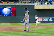 Justin Morneau #33 of the Minnesota Twins rounds the bases after hitting a home run against Matt Harvey #33 of the New York Mets on April 13, 2013 at Target Field in Minneapolis, Minnesota.  The Mets defeated the Twins 4 to 2.  Photo: Ben Krause