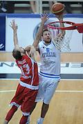 TRENTO TRENTINO BASKET CUP - 07082013 - ITALIA GEOGIA<br /> NELLA FOTO : STEFANO MANCINELLI<br /> FOTO CIAMILLO