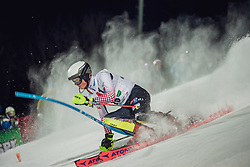 "29.01.2019, Planai, Schladming, AUT, FIS Weltcup Ski Alpin, Slalom, Herren, 1. Lauf, im Bild Elias Kolega (CRO) // Elias Kolega of Croatia in action during his 1st run of men's Slalom ""the Nightrace"" of FIS ski alpine world cup at the Planai in Schladming, Austria on 2019/01/29. EXPA Pictures © 2019, PhotoCredit: EXPA/ Dominik Angerer"
