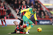 Bournemouth v Norwich City 10/01/2015