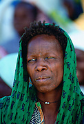 Local woman with facial tribal markings in Northern Nigeria