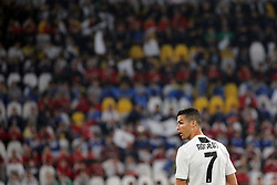 October 20, 2018 - Turin, Turin, Italy - Cristiano Ronaldo #7 of Juventus FC during the serie A match between Juventus FC and Genoa CFC at Allianz Stadium on October 20, 2018 in Turin, Italy. (Credit Image: © Giuseppe Cottini/NurPhoto via ZUMA Press)