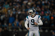 January 24, 2016: Carolina Panthers vs Arizona Cardinals. Graham Gano