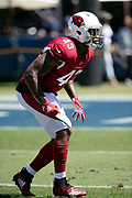 Arizona Cardinals linebacker Haason Reddick (43) chases the action during the 2018 NFL regular season week 2 football game against the Los Angeles Rams on Sunday, Sept. 16, 2018 in Los Angeles. The Rams won the game in a 34-0 shutout. (©Paul Anthony Spinelli)