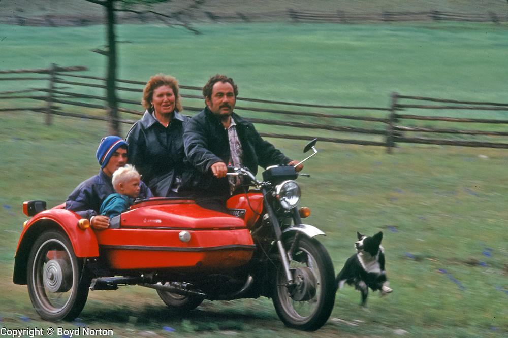 Family outing at Lake Baikal