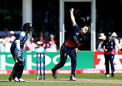 Natalie Sciver of England Women bowls - Mandatory by-line: Robbie Stephenson/JMP - 02/07/2017 - CRICKET - County Ground - Taunton, United Kingdom - England Women v Sri Lanka Women - ICC Women's World Cup Group Stage