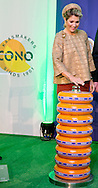 Westbeemster, 13-11-2014<br /> <br /> Queen Maxima of The Netherlands opens the new CONO Cheesemakers factory in Westbeemster, The Netherlands, 13 November 2014. The new building is designed as a abstract farm<br /> <br /> Photo: Bernard Ruebsamen/Royalportraits Europe