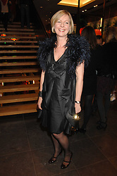 Mulberry's chief operating officer LISA MONTAGUE at a party hosted by Mulberry to celebrate the publication of The Meaning of Sunglasses by Hadley Freeman held at Mulberry 41-42 New Bond Street, London on 14th February 2008.<br />