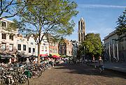 Domtoren, Dom tower, historic buildings, Utrecht, Netherlands
