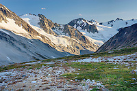 Unnamed glaciated peaks of Boulder/Salal Divide, Coast Range British Columbia Canada