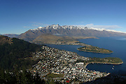View from Skyline Gondola, Queenstown, South Island, New Zealand<br />