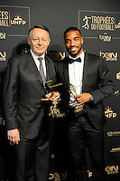 Alexandre LACAZETTE / Thierry BRAILLARD - 17.05.2015 - Ceremonie des Trophees UNFP 2015<br />