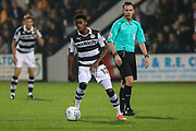 Forest Green Rovers Reece Brown(10) on the ball during the EFL Sky Bet League 2 match between Cambridge United and Forest Green Rovers at the Cambs Glass Stadium, Cambridge, England on 26 September 2017. Photo by Shane Healey.