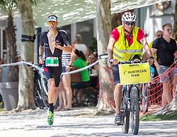 07.07.2019, Klagenfurt, AUT, Ironman Austria, Laufen, im Bild Paul Reitmayr (AUT) // Paul Reitmayr (AUT) during the run competition of the Ironman Austria in Klagenfurt, Austria on 2019/07/07. EXPA Pictures © 2019, PhotoCredit: EXPA/ Johann Groder