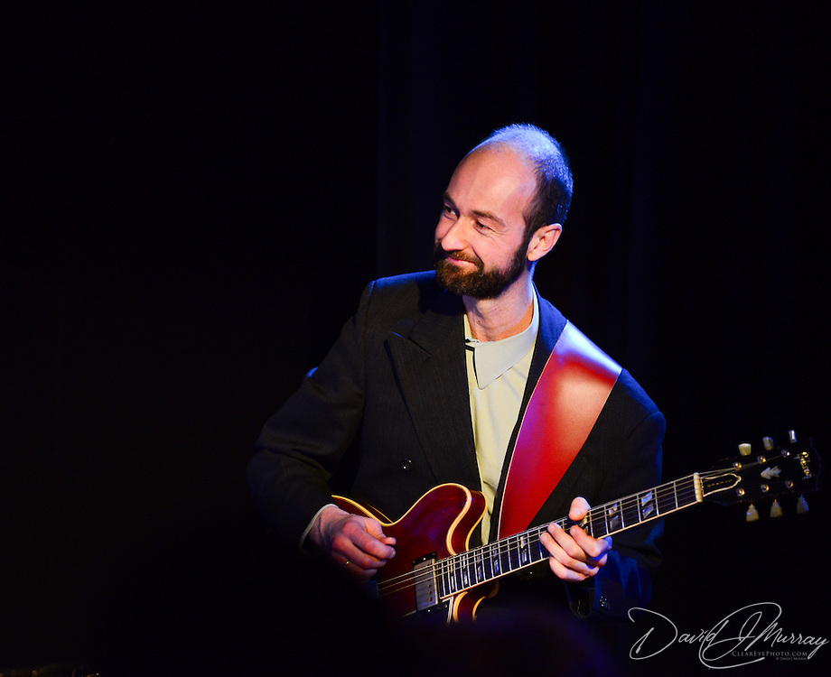 Guitarist and PMAC faculty member Bryan Bergeron Killough performs in Jazz Night 2013 at The Loft in Portsmouth, NH