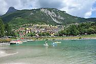 Lago di Molveno con mountain bike e canoa estate 2013 © foto Daniele Mosna