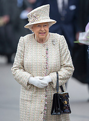 PANGBOURNE-  UK -  9th May 2017: HM The Queen Elizabeth and HRH The Duke of Edinburgh will visit Pangbourne College, Berkshire, on the occasion of the school's centenary.<br /> <br />  Photo by Ian Jones