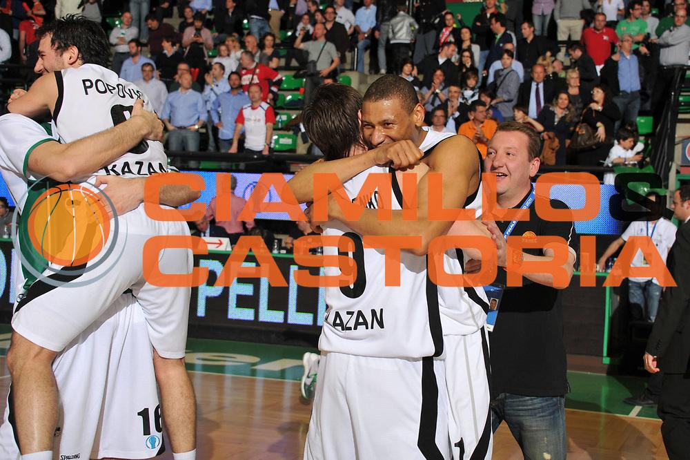 DESCRIZIONE : Treviso Eurocup Finals 2010-11 1st-2nd Place 1-2 Posto Finale Finale Unics Kazan Cajasol Siviglia Sevilla<br /> GIOCATORE : Ricky Minard<br /> SQUADRA : Unics Kazan Cajasol Siviglia Sevilla<br /> EVENTO : Unics Kazan Cajasol Siviglia Sevilla<br /> GARA : Unics Kazan Cajasol Siviglia Sevilla<br /> DATA : 17/04/2011<br /> CATEGORIA : Esultanza<br /> SPORT : Pallacanestro <br /> AUTORE : Agenzia Ciamillo-Castoria/M.Gregolin<br /> GALLERIA: Eurocup 2011 -2011<br /> FOTONOTIZIA: Treviso Eurocup Finals 2010-11 1st-2nd Place 1-2 Posto Finale Finale Unics Kazan Cajasol Siviglia Sevilla<br /> PREDEFINITA: