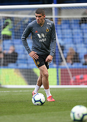 Diogo Jota of Wolverhampton Wanderers warms up - Mandatory by-line: Arron Gent/JMP - 10/03/2019 - FOOTBALL - Stamford Bridge - London, England - Chelsea v Wolverhampton Wanderers - Premier League