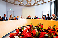 THE HAGUE - King Willem-Alexander, Queen Maxima and Piet Hein Donner Extraordinary meeting of the Council of State, The Hague, The Netherlands - 31 Oct 2018 copyrught robin utrecht