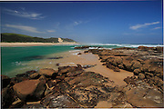 South Africa, Eastern Cape, Estuary of the Tyolomnqa river.<br /> Photo: &copy; ZuteLightfoot