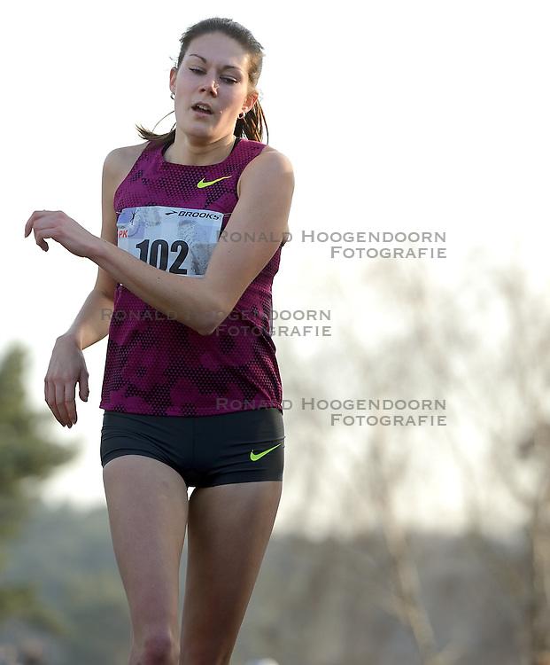 31-12-2014 NED: Rabobank Sylvestercross, Soest<br /> Maureen Koster tweede op de Sylvestercross