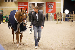Kittel Patrick, (SWE), Watermill Scandic HBC<br /> Horse Inspection<br /> Reem Acra FEI World Cup Dressage Finals 2016<br /> © Hippo Foto - Dirk Caremans<br /> 24/03/16