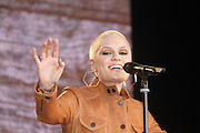 13.JUNE.2013. LONDON<br /> <br /> JESSIE J PERFORMING AT THE AGIT8 CONCERT, SOUTHBANK. A TOTALLY UNIQUE MUSIC-BASED CAMPAIGN TO BUILD PRESSURE FOR ACTION AGAINST EXTREME POVERTY AT THIS YEAR'S G8 SUMMIT MEETING.<br /> <br /> BYLINE: EDBIMAGEARCHIVE.CO.UK<br /> <br /> *THIS IMAGE IS STRICTLY FOR UK NEWSPAPERS AND MAGAZINES ONLY*<br /> *FOR WORLD WIDE SALES AND WEB USE PLEASE CONTACT EDBIMAGEARCHIVE - 0208 954 5968*