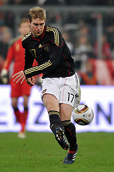 03.03.2010, Allianz Arena Muenchen, Muenchen, GER,  Laenderspiel Deutschland ( GER ) - Argentinien ( ARG ) 0 - 1. Im Bild Per Mertesacker ( GER / Bremen #17 ). EXPA Pictures © 2010, PhotoCredit: EXPA/ nph/  Kurth / for Slovenia SPORTIDA PHOTO AGENCY.