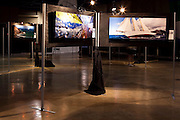 "Nautical photographer Cory Silken's exhibition ""Color of Wind, presented by Bacardi."" The show runs from March 7-13, 2010 in the Coconut Grove Expo Center, during the Bacardi Miami Sailing Week regatta."