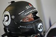 Ultrateck Racing / Team RJN Nissan 370z GT4 driver Kelvin Fletcher during the British GT Championship at Snetterton Circuit. Photo: Jurek Biegus.