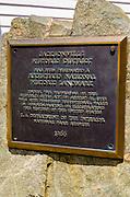 Jacksonville historic landmark plaque, Jacksonville, Oregon USA